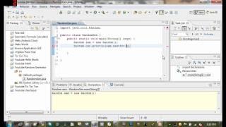 Java Tutorial 8 Random Number Generator