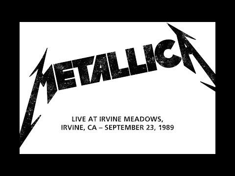 Metallica - Live at Irvine Meadows, Irvine, CA (1989) [New 2019 SBD Audio]