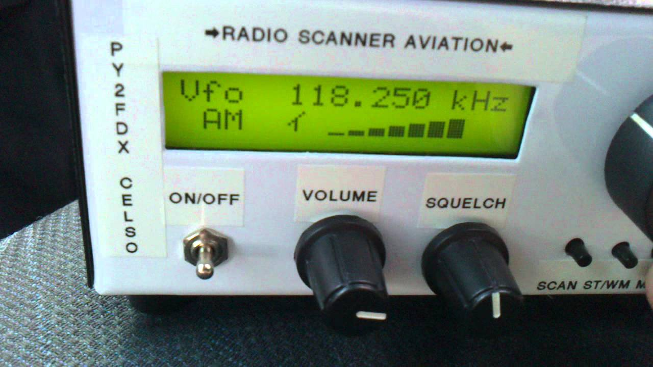 Airband Receiver By PU2TMC Luiz And PY2FDX Celso Listen Runway 15 Viracopos  International Airport