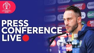 Post Match Press Conference Pakistan vs South Africa  | ICC Cricket World Cup 2019