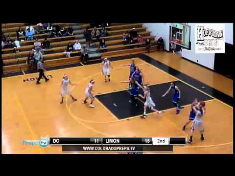CHSAA Girls Basketball Playoffs - Denver Christian vs Limon  Class 2A  Round District 4