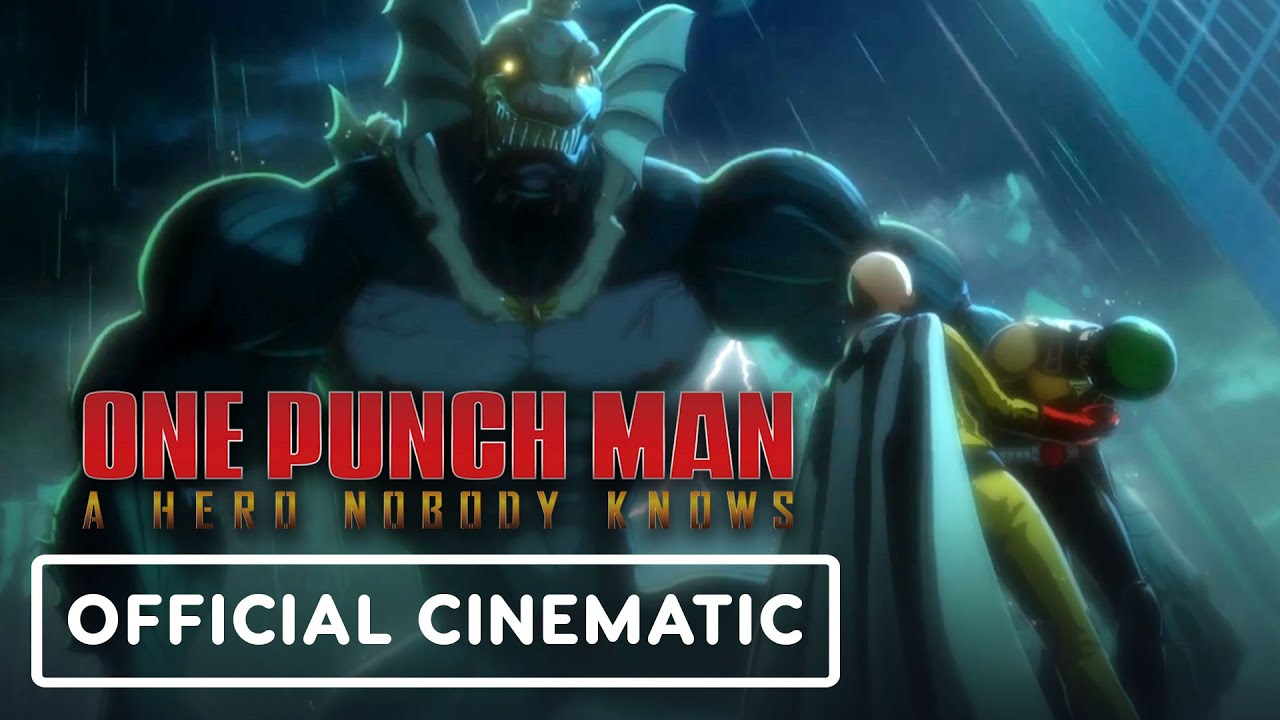One Punch Man: A Hero Nobody Knows - Official Opening Cinematic