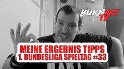 MEINE BUNDESLIGA ERGEBNIS TIPPS SPIELTAG 33 | BURNART TV #535