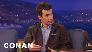 Nathan Fielder's New Clothing Line  - CONAN on TBS