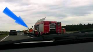 Crash A31 Haren (Ems), Niemcy DE