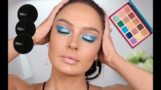 Natasha Denona Tropic Palette Tutorial + Face Halo PRO!