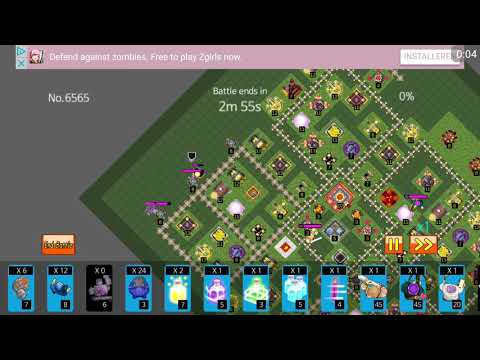Clash of Clans Simulator 3 star