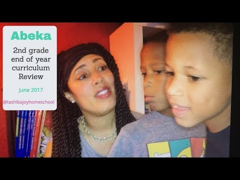 2nd grade Abeka PROS VS CONS Curriculum Review June 2017