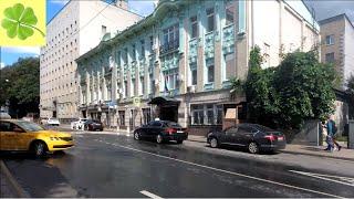 Москва. Прогулка по Леонтьевскому переулку 09.07.2019