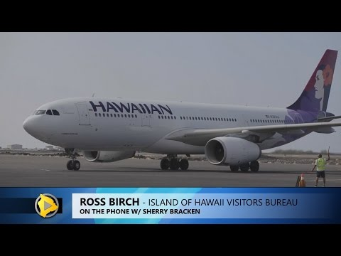 Hawaii Tourism Official Thrilled By New Japan Flights (Dec. 25, 2016)