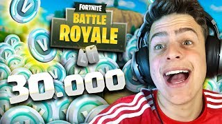 COMPREI 30 000 V BUCKS NO FORTNITE : BATTLE ROYALE !!!! JonPlays