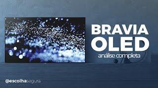 SONY BRAVIA OLED A1E - Tela, Design e um controle que.... | Análise Completa