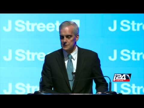 Denis McDonough on two-state solution at J Street