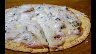 Быстрая пицца на мексиканской лепешке