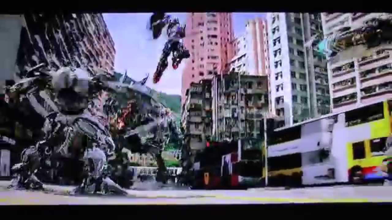 List Of Transformers >> Transformers 4 - Hong Kong Battle - YouTube