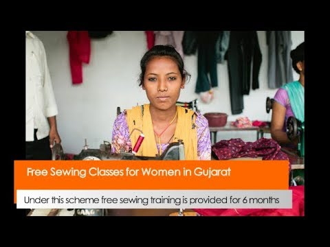 Free Sewing Classes for Women in Gujarat