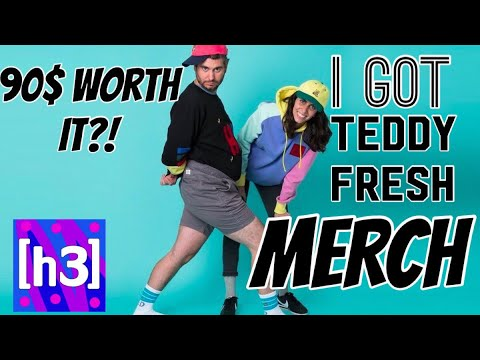 97b168bbd24 I GOT TEDDY FRESH MERCH - YouTube