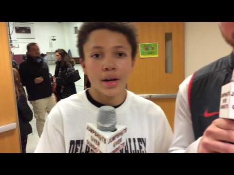 """Pike County. Delaware Valley Middle School. """"Coach Quinnlyn & #30- Ryan Daughtery"""""""