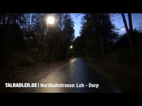 Nordbahntrasse zwischen Loh und Dorp (8. Oktober 2014)