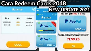 Redeem 2048 Cards New Update screenshot 5