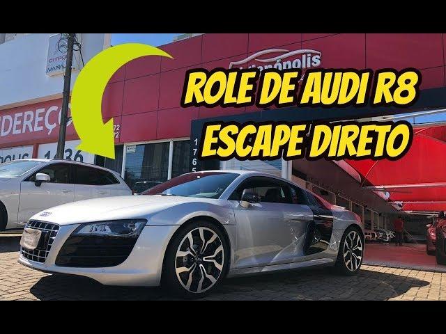 ROLE DE R8 ESCAPE SO O CANO