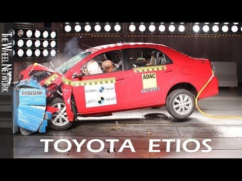 Toyota Etios Safety Tests Latin NCAP | July 2019 Ratings