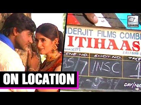 Itihaas Movie On Location | Ajay Devgn | Twinkle Khanna thumbnail