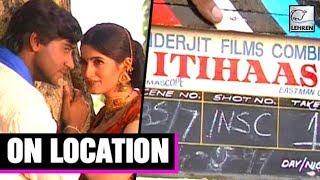 Itihaas Movie On Location  Ajay Devgn  Twinkle Khanna