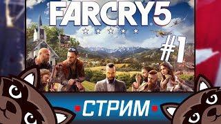 Far Cry 5 - Первый взгляд на игру ⭐ Стрим с Феном ⭐