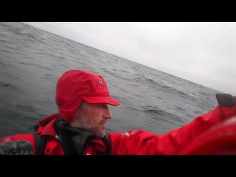 Windsurf Round Europe - Måsøya to Hammerfest, Norway