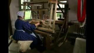 видео Льняная ткань
