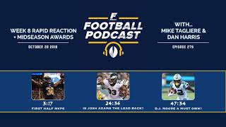 Week 8 Rapid Reaction + Midseason Awards (Ep. 279)