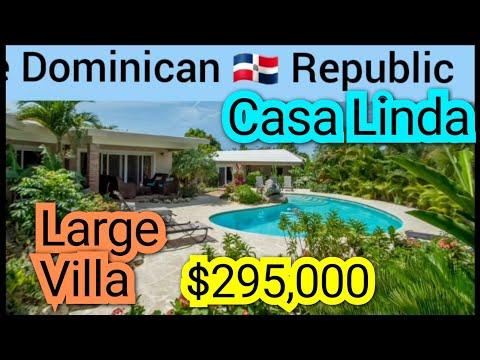 CASA LINDA HOUSE IN SOSUA DOMINICAN REPUBLIC FOR SALE #CasaLinda #Sosuavillaforsale #puertaplata