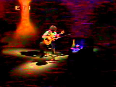 Evangelos Boudounis - Classical Guitar Recital - Greek TV [M.Llobet-El Testament d' Amelia]