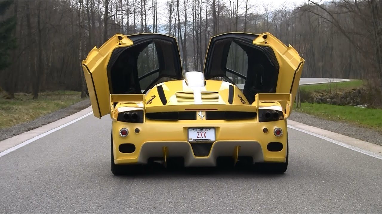 840HP Ferrari Enzo ZXX Edo Compeion SOUNDS - YouTube