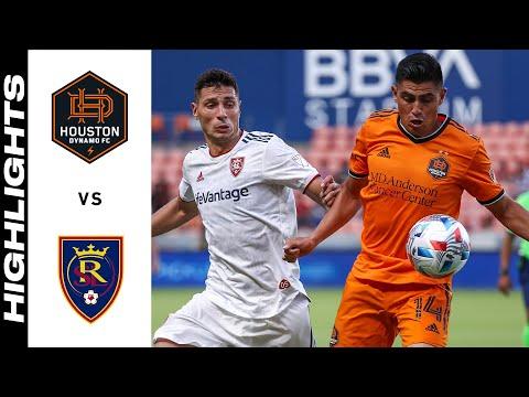 Houston Real Salt Lake Goals And Highlights