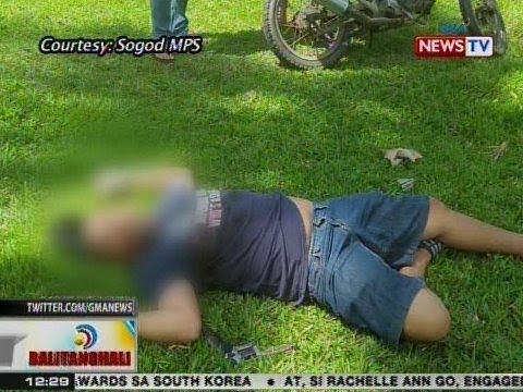 BT: Top drug personality ng Sogod, Southern Leyte, patay sa operasyon ng pulisya