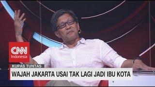 Keras! Rocky Gerung: Jakarta Jadi Barang 'Bekas' Karena Kebijakan Pindah Ibu Kota #KupasTuntas
