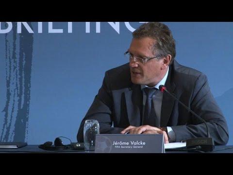 Mondial-2022: Jérôme Valcke parle des conditions de travail