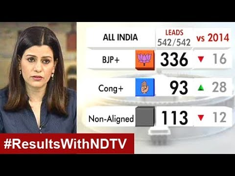 Election Results: NaMo Gives BJP Bigger-Than-2014 Total (Leads)