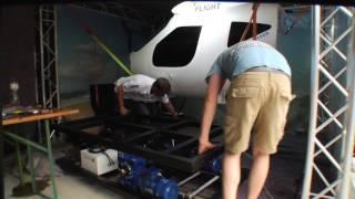 Ölwechsel am Flugsimulator