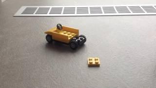 Как сделать LEGO машину и телевизор