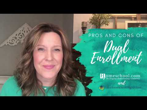 Pros and Cons of Dual Enrollment Homeschooling