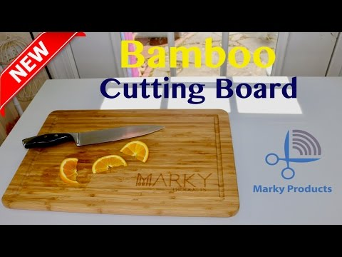EXTRA LARGE ❤️Bamboo Cutting Board - Review ✅