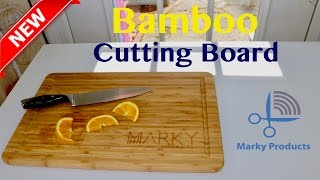 😍  EXTRA LARGE  ❤️Bamboo Cutting Board - Review ✅