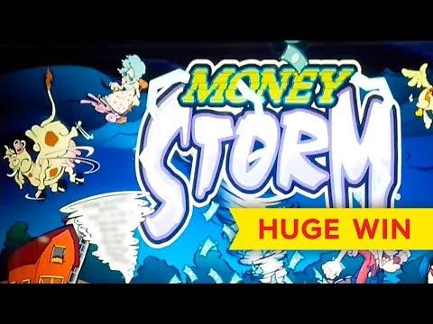 Money Storm Slot - AWESOME RETRIGGER BONUS!