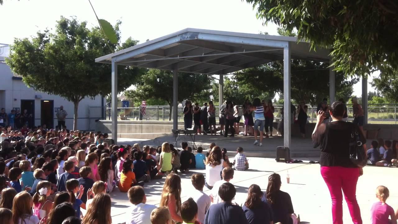 Best last day of school teacher dance!