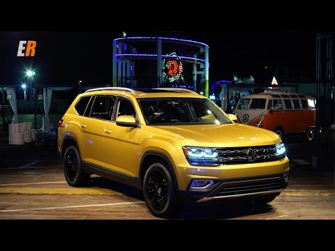 NEW WORLD PREMIERE - 2018 VW Atlas - Competition for Highlander, Pathfinder and Pilot?