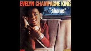 "EVELYN ""CHAMPAGNE"" KING. ""Shame"". 1977. original 12"" version."