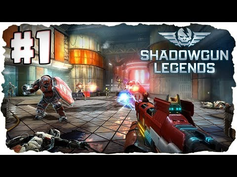 Let's Play Shadowgun Legends 🌚 #1 - Bester RPG Shooter! ★ (Deutsch / German)